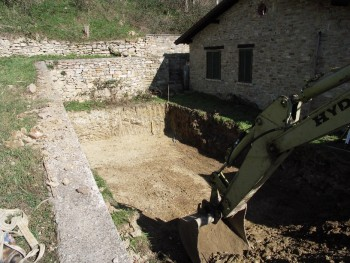 ponti-pool- udgravning
